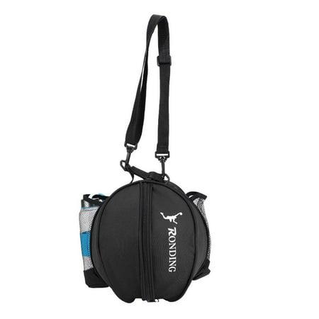 Portable Oxford Cloth Sports Basketball Football Soccer Ball Storage Ball Single Shoulder Strap Basketball Bag