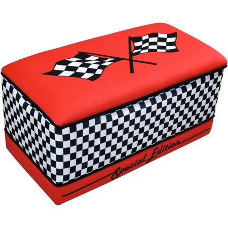 Race car large toy box for 2 box auto profondo