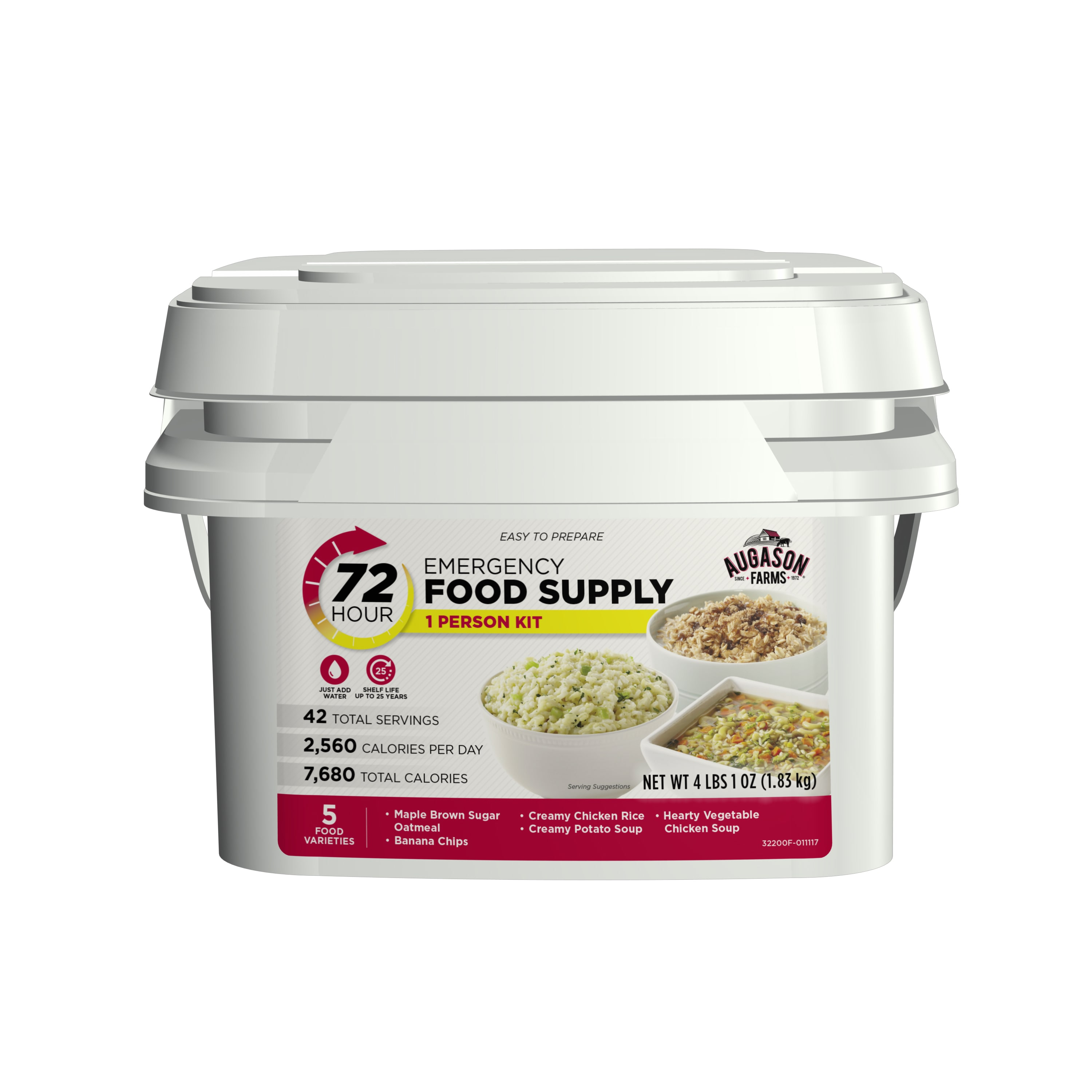 Augason Farms 72-Hour 1-Person Emergency Food Supply Kit by Overstock