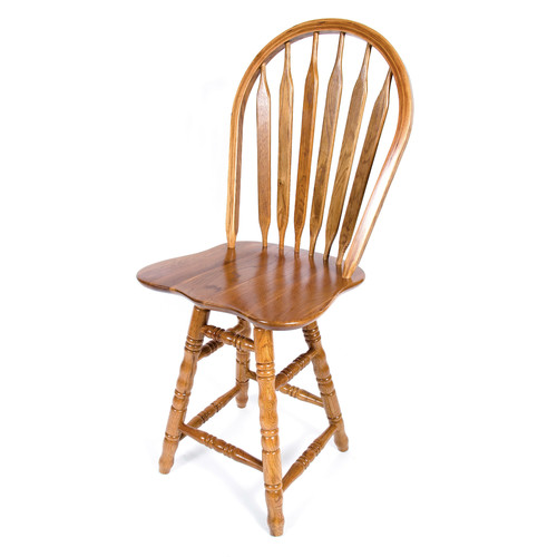 AW Furniture 24'' Swivel Bar Stool