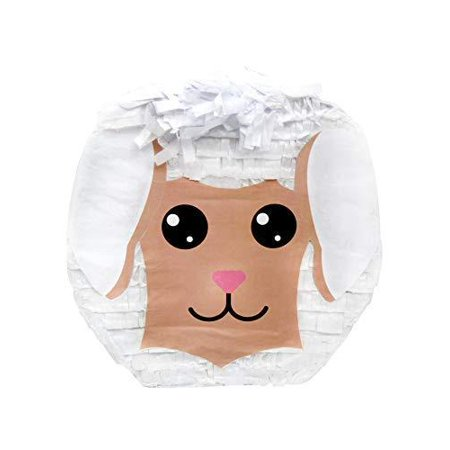 Cute Little Lamb Easter Pinata, 14in x 14in](Little Mermaid Pinatas)