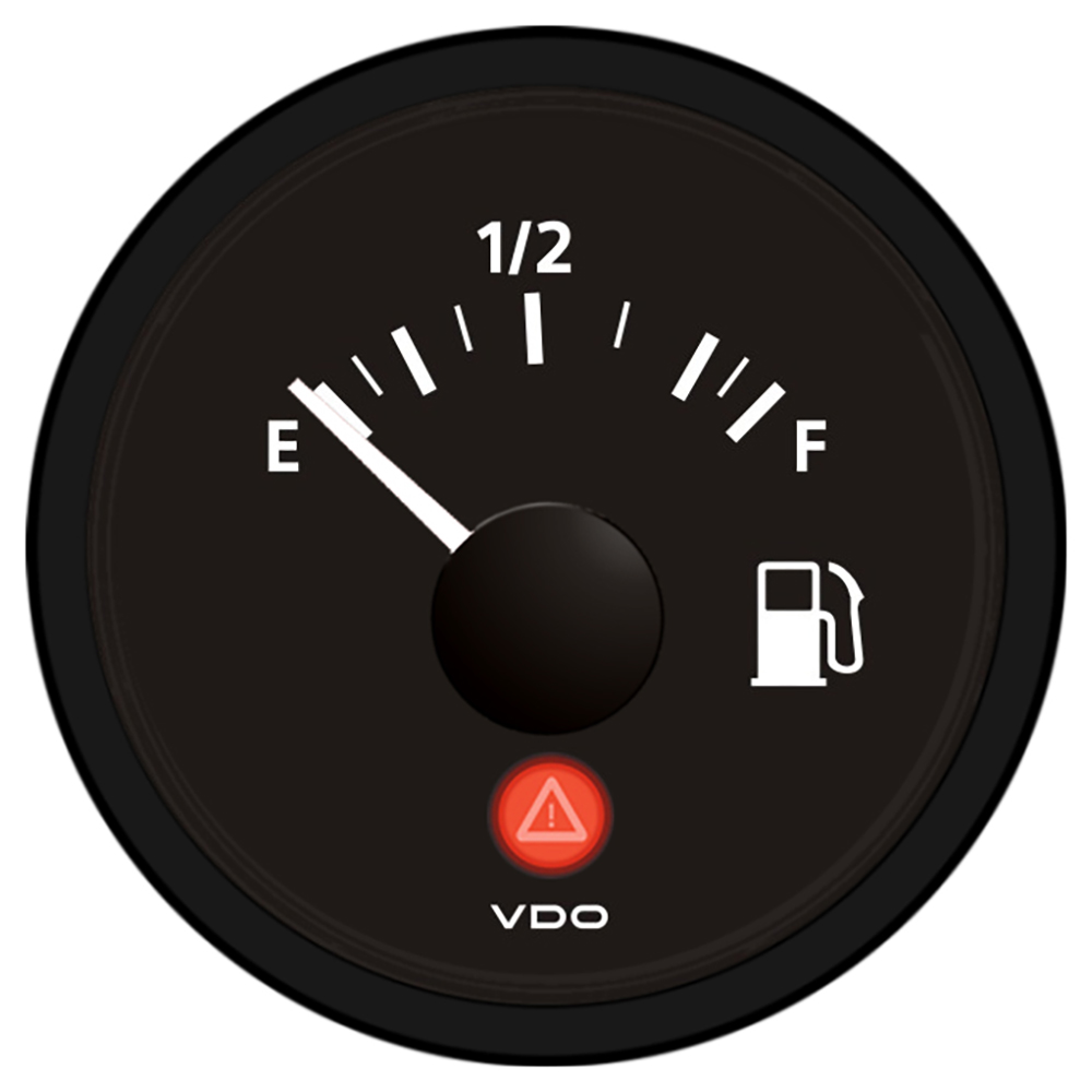 VDO VIEWLINE ONYX FUEL GAUGE 12/24V USE WITH 240-33 OHM