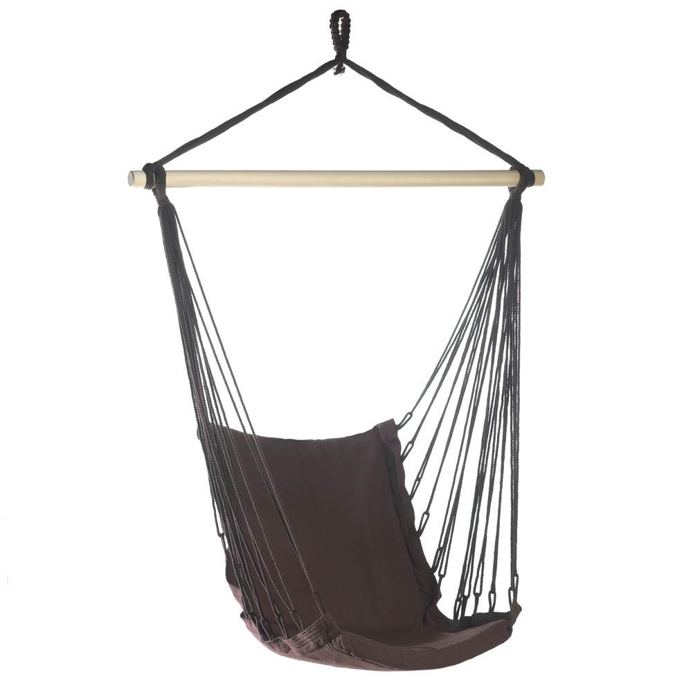 Hanging Chair, Portable Hammock Chair Rope Outdoor Cotton Hammock Swing Chair