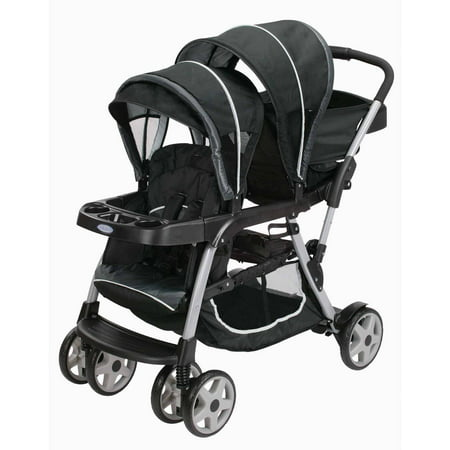 Graco Ready2Grow Click Connect LX Double Stroller Gotham