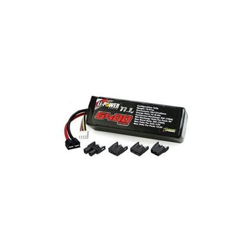 Venom 20C 6400Mah 11. 1V Lipo - Uni Plug 15009- VEN15009