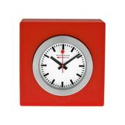 Mondaine Magnet Red Desk Cube Clock A660.30318.84SBC