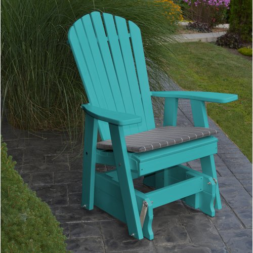 Red Barrel Studio Eduardo Adirondack Glider Chair