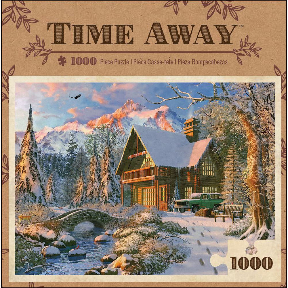 Time Away - Winter Haven 1000 Piece Puzzle