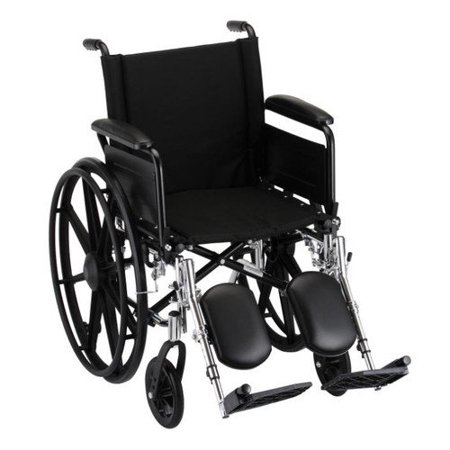 GO! Mobility Lightweight Wheelchair Seat Size: 20
