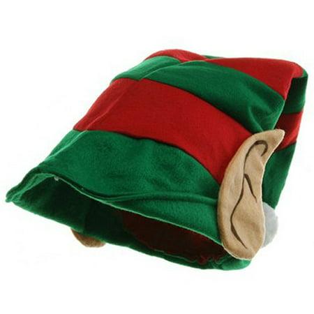 58354d4afe638 Santa s Little Helper Elf Hat with Cloth Ears - Walmart.com