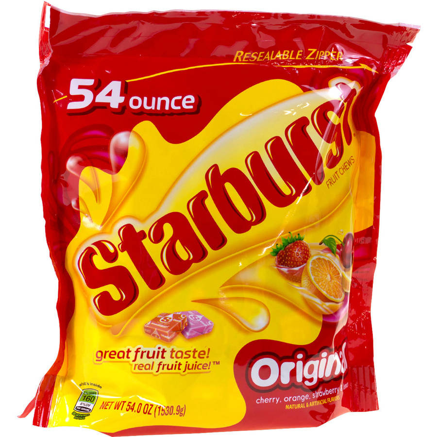 Starburst Original Fruit Chews Candy, 54 oz