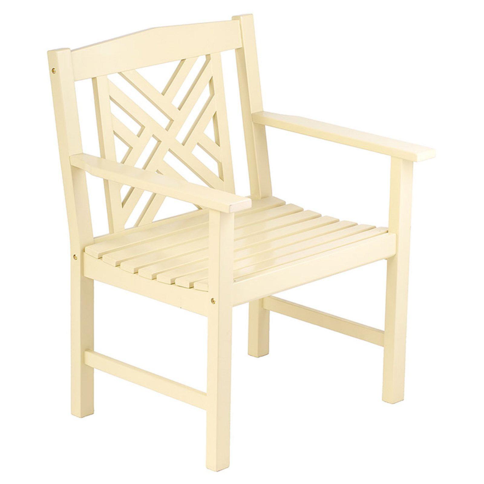 Achla Designs Fretwork Arm Chair