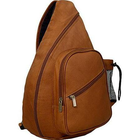 David King Leather Unisex 318 Backpack Style Cross Body Bag David King Mens Bag