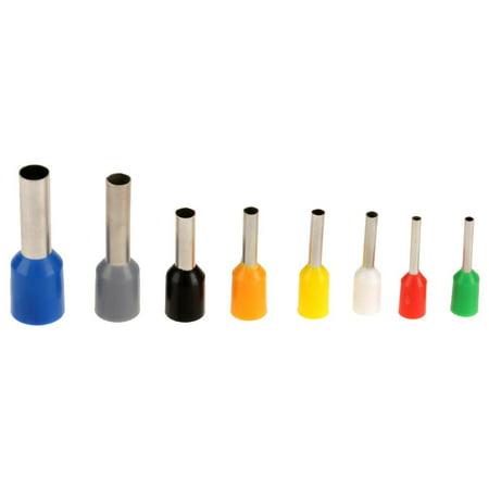 HURRISE Pince à sertir pour embout, Outil de sertissage de borne, 1pcs Fil Pince à sertir outil Pince à sertir de terminal Pince à sertir 0.25-6mm² + 800Pcs - image 10 de 12