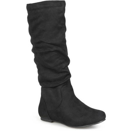 - Women's Slouchy Microsuede Boots