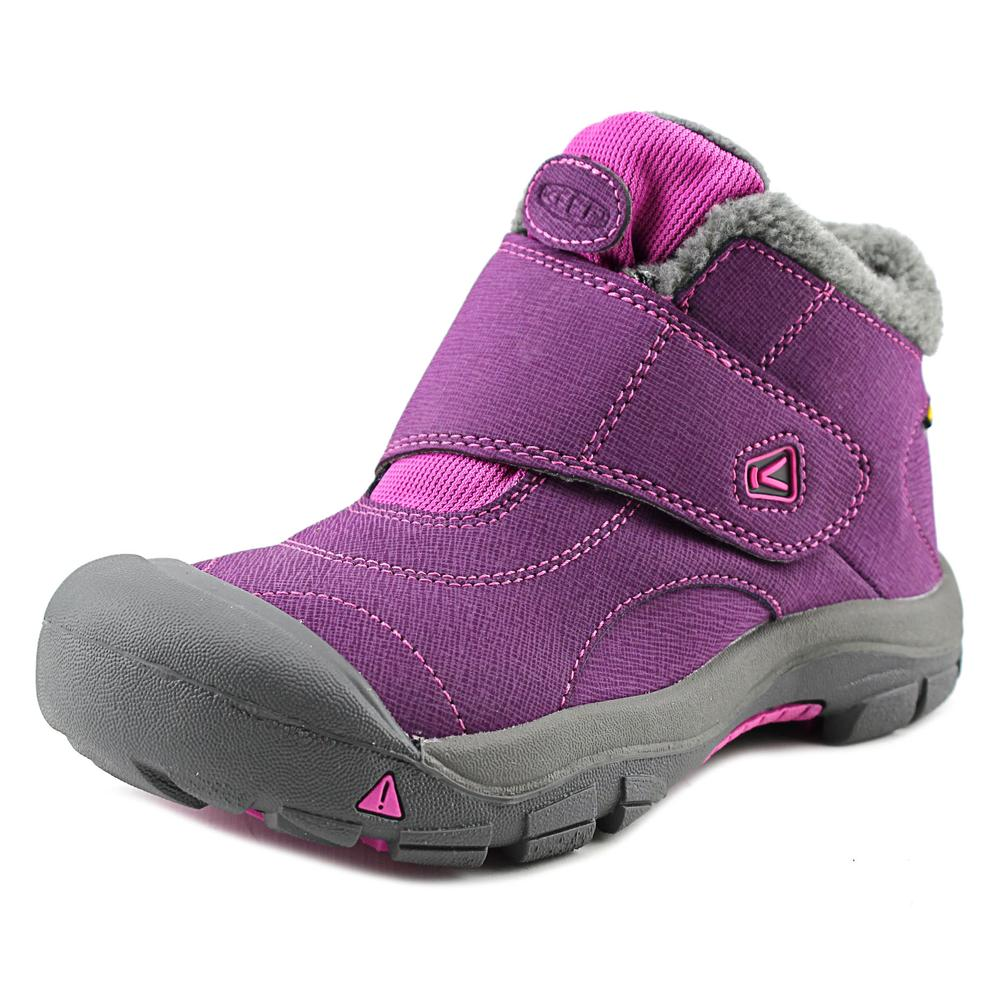Keen Kootenay WP Youth  Round Toe Synthetic Purple Winter Boot
