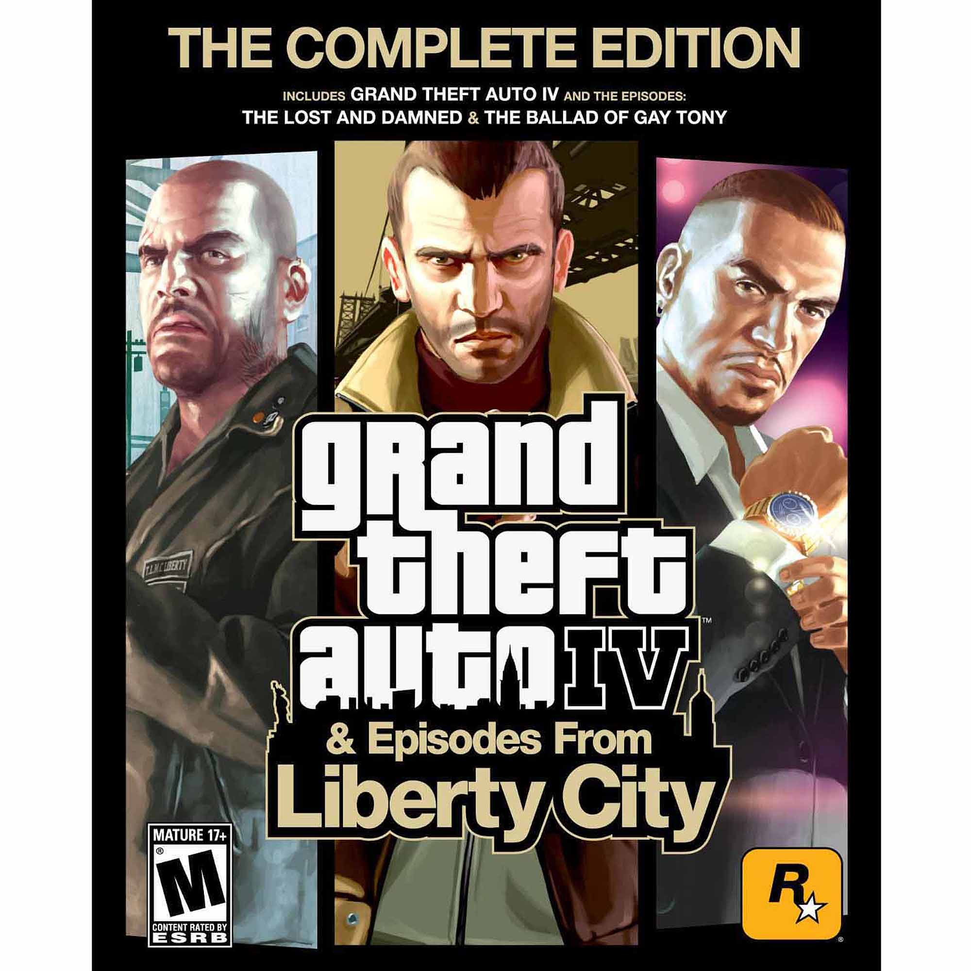 Grand Theft Auto IV: Complete Edition (PC) (Digital Code)