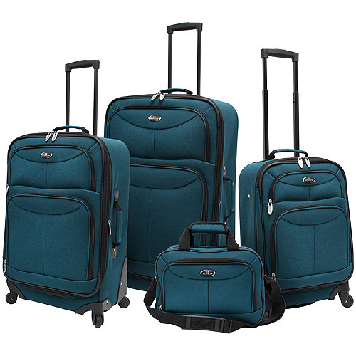 U.s. Traveler Fashion 4 Piece Spinner Lu