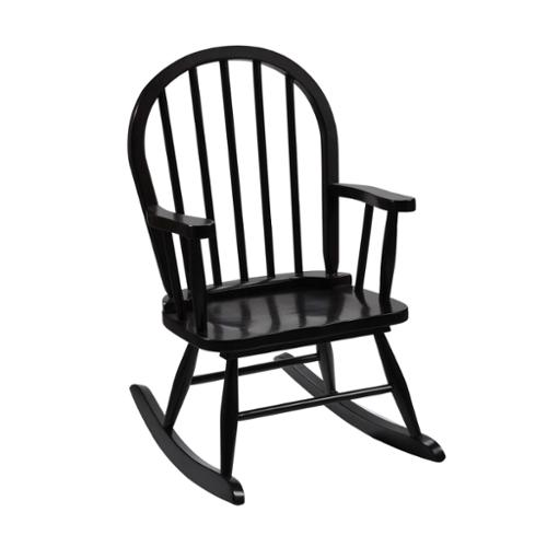 Windsor Childrens Rocking Chair-Finish:Espresso