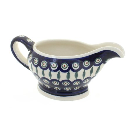 Proud Peacock Bowl (Polish Pottery Peacock Gravy)