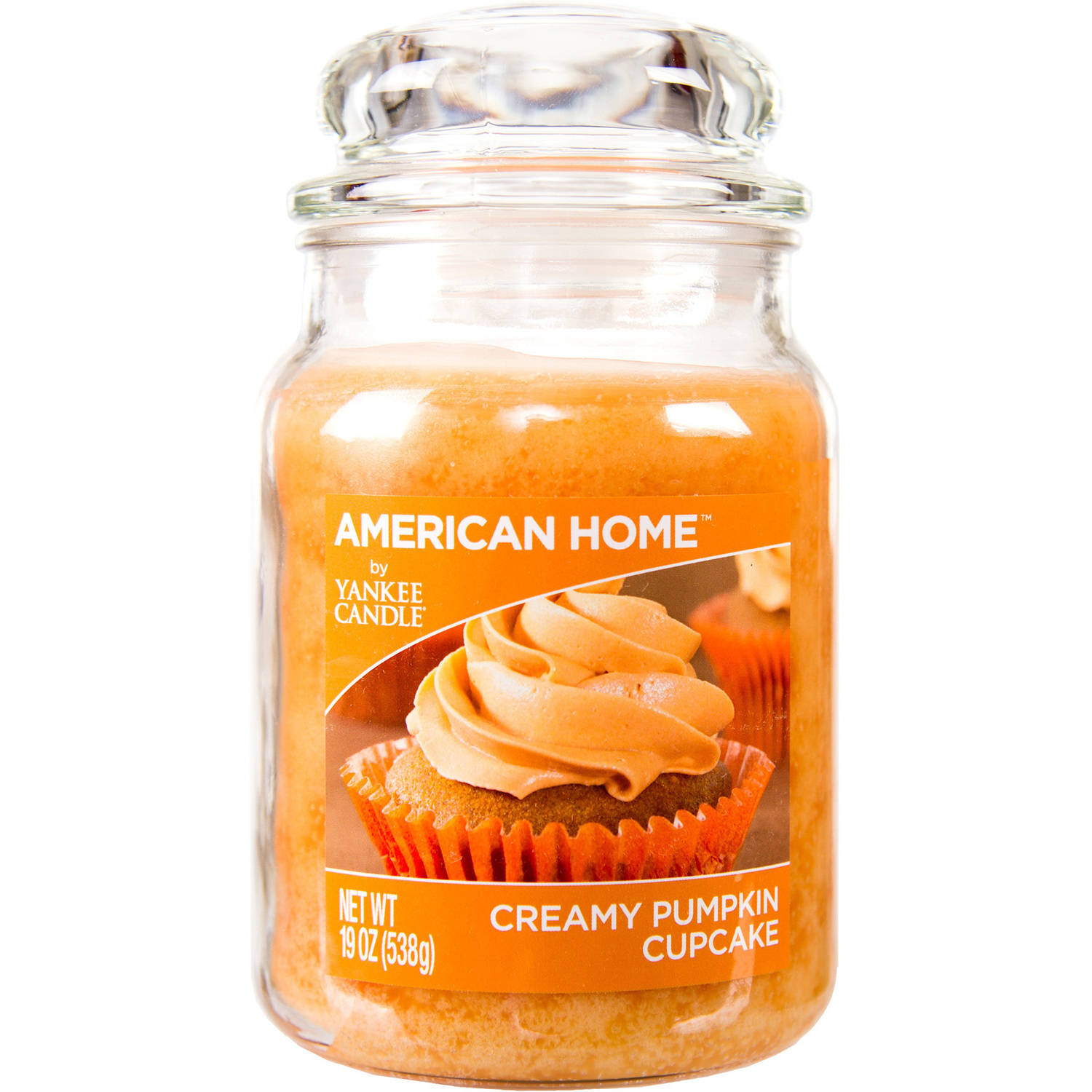 American Home by Yankee Candle Creamy Pumpkin Cupcake 19 oz Large Jar Candle