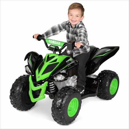 (12 Volt Yamaha Raptor Black/Green)