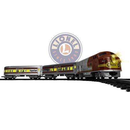 Lionel Trains Santa Fe Diesel Ready-To-Play Train Set (Santa Fe Zoo Halloween)