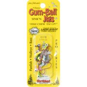 Northland Tackle Gum-Ball Jig, Two-Tone, Assorted, 12pk