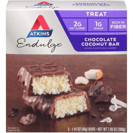 Image of Atkins Endulge Chocolate Coconut Bars 5-pack