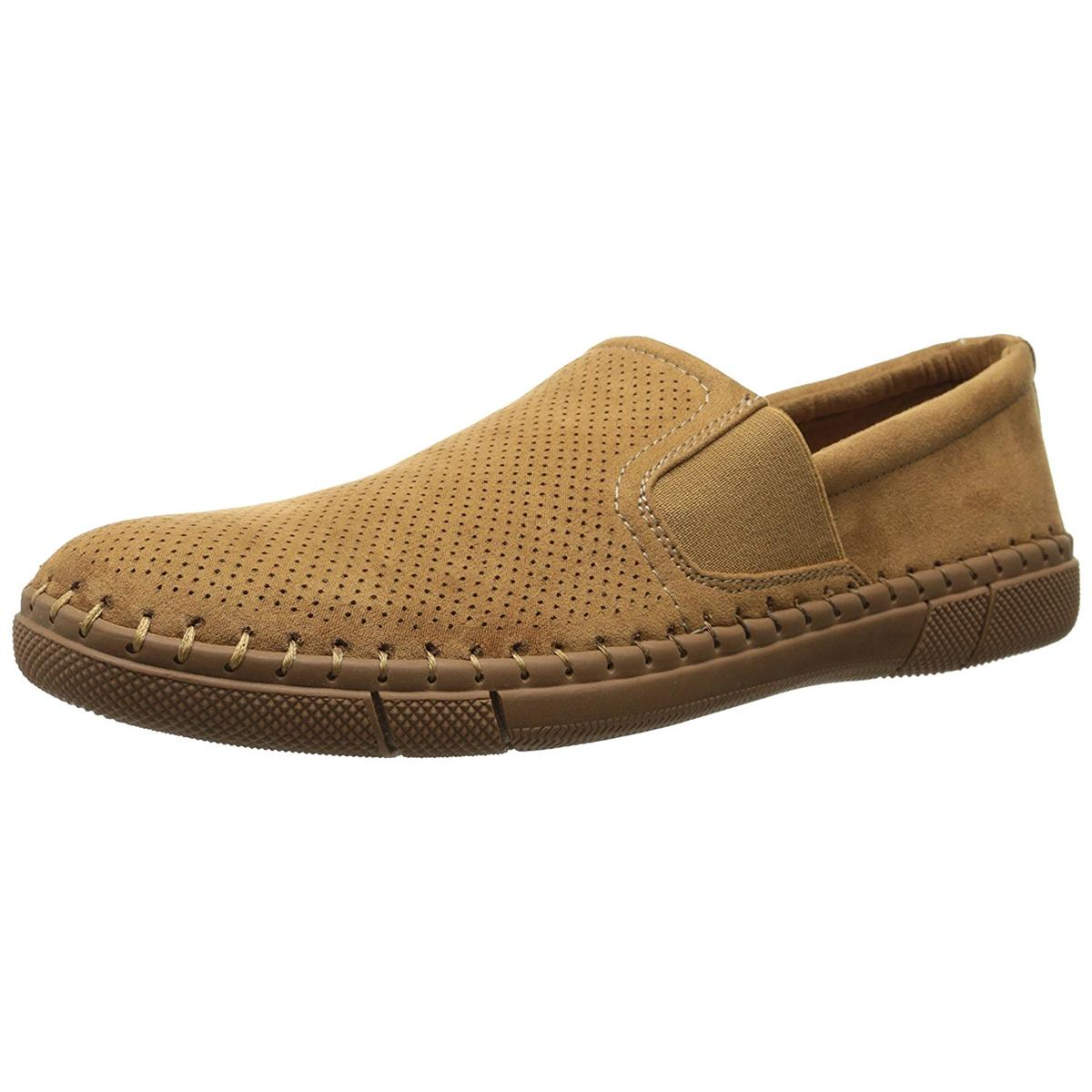 Robert Wayne Road on Men's Rust Suede Slip on Road Loafer 8M ebb5e2