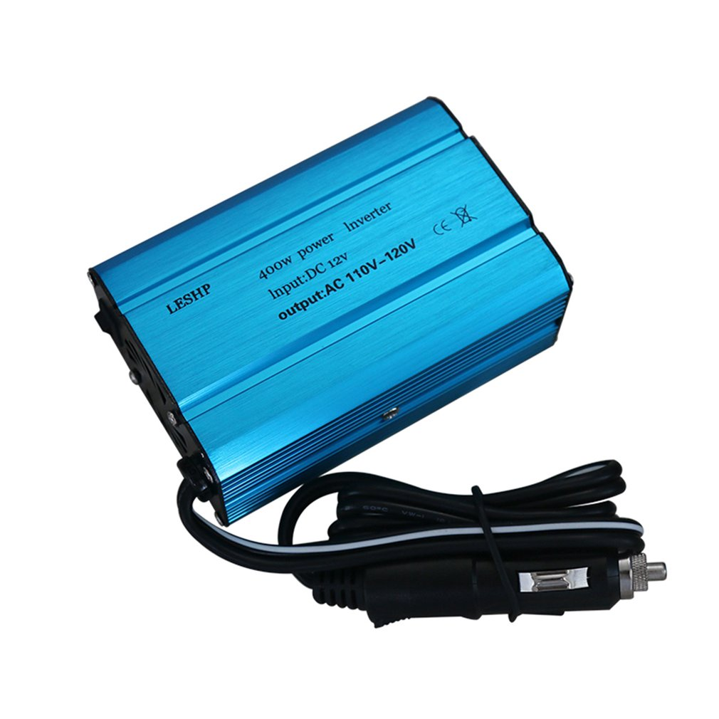 ACEHE 400W Car Power Inverter DC 12V to 220-230V AC Dual USB Charging Ports With Car Charger Portable Converter