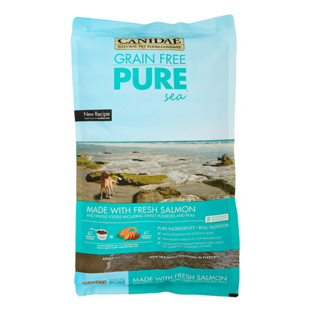 Canidae Fish Food - Canidae Pure Sea Grain-Free Fresh Salmon Dry Dog Food, 12 lb