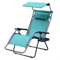 Pemberly Row Oversized Chair with Sunshade in Green
