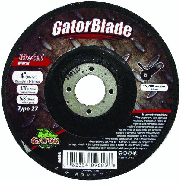 Gator Blade Type 27 Cut-Off Wheel