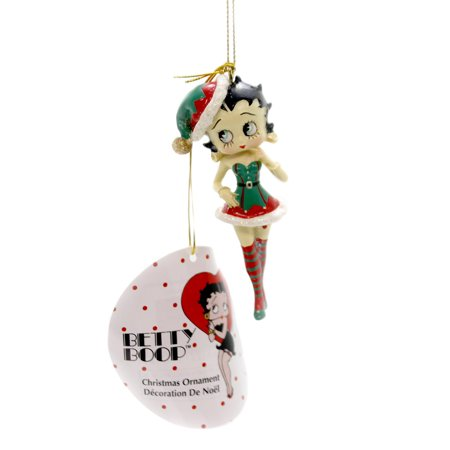 Betty Boop BETTY IN ELF OUTFIT Polyresin Official Licensed Bb2172 (Betty Boop Plus Size Costume)