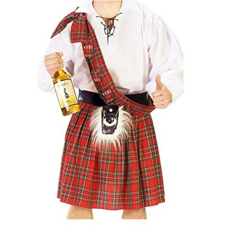 Scottish Kilt Adult Halloween Costume - One - Blog Halloween Costume Ideas