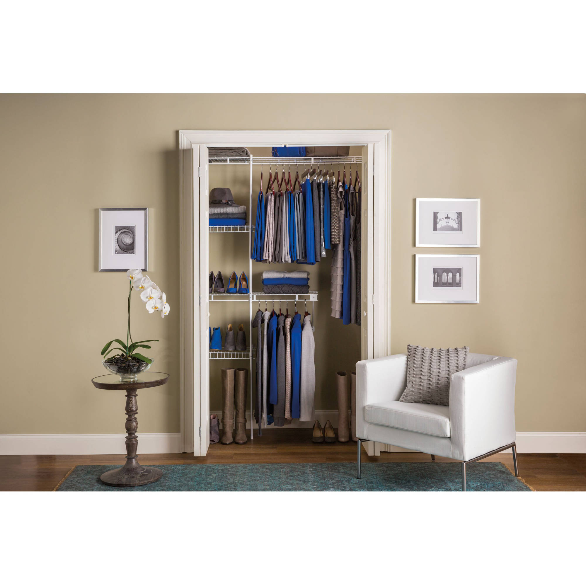Cheap hanging closet organizers at walmart roselawnlutheran Pictures of closet organizers