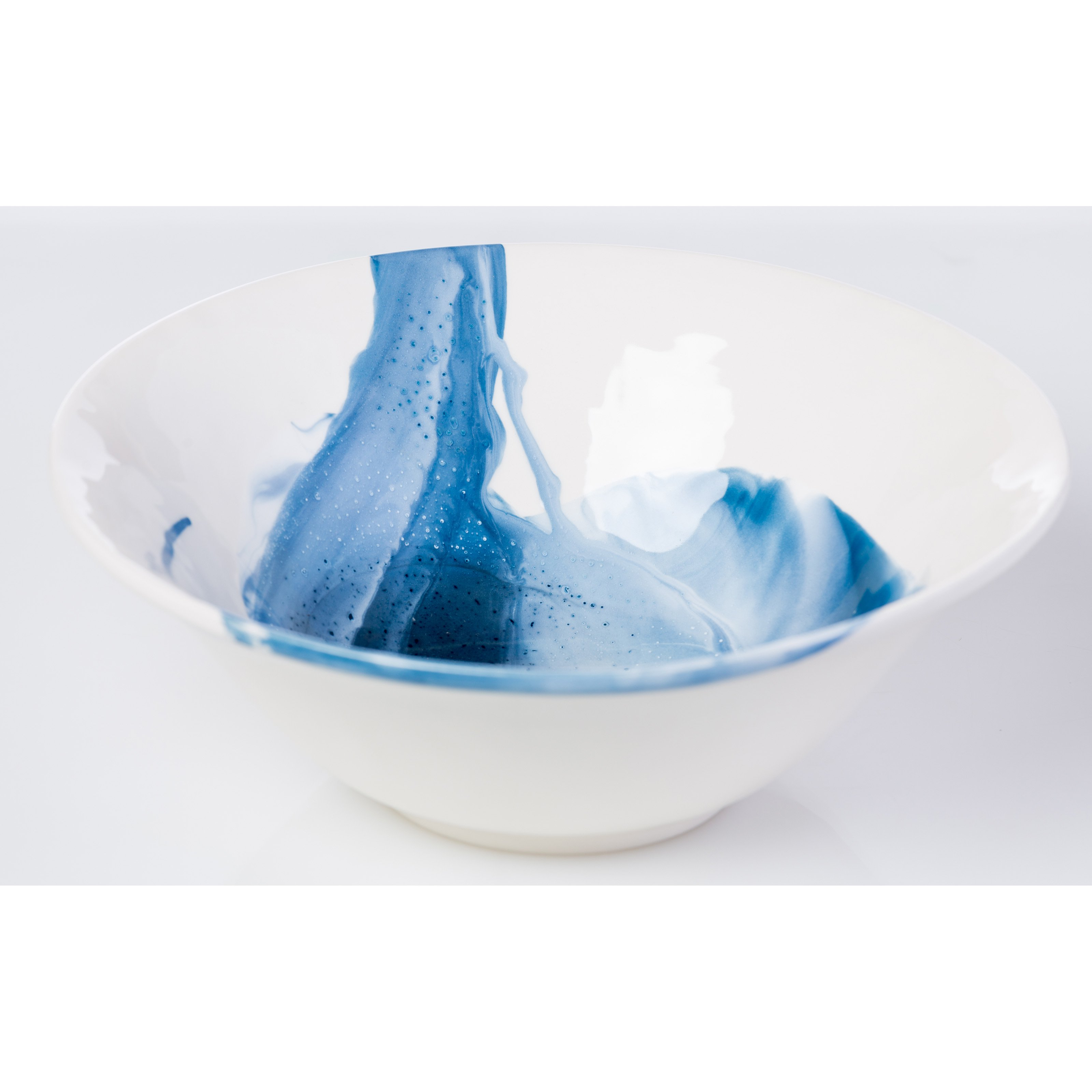 Abigails Splash Serving Bowl by