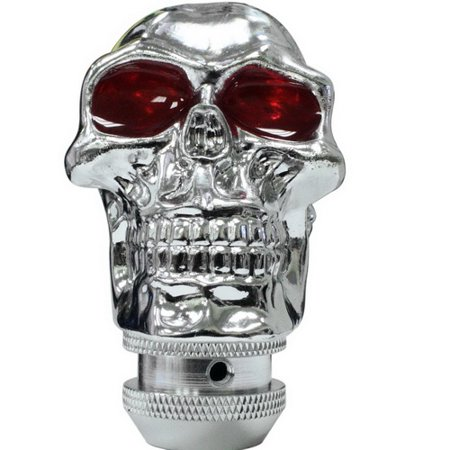 Universal Car Shift Knob, Cool Weighted Auto Manual Gear Shift Knob Skull