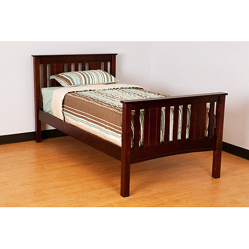 Canwood Base Camp Twin Bed, Cherry