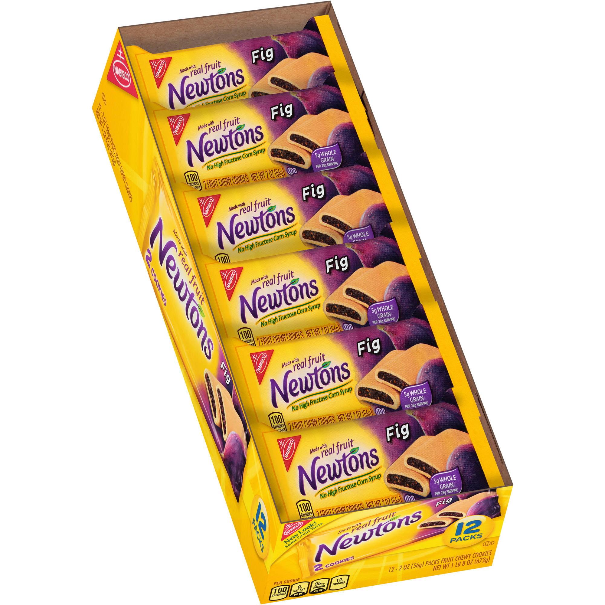 Kraft Foods Snacks & Cereal Mondelez Global Llc Nabisco Newtons Fig Fruit Chewy Cookies  -  12 Ct