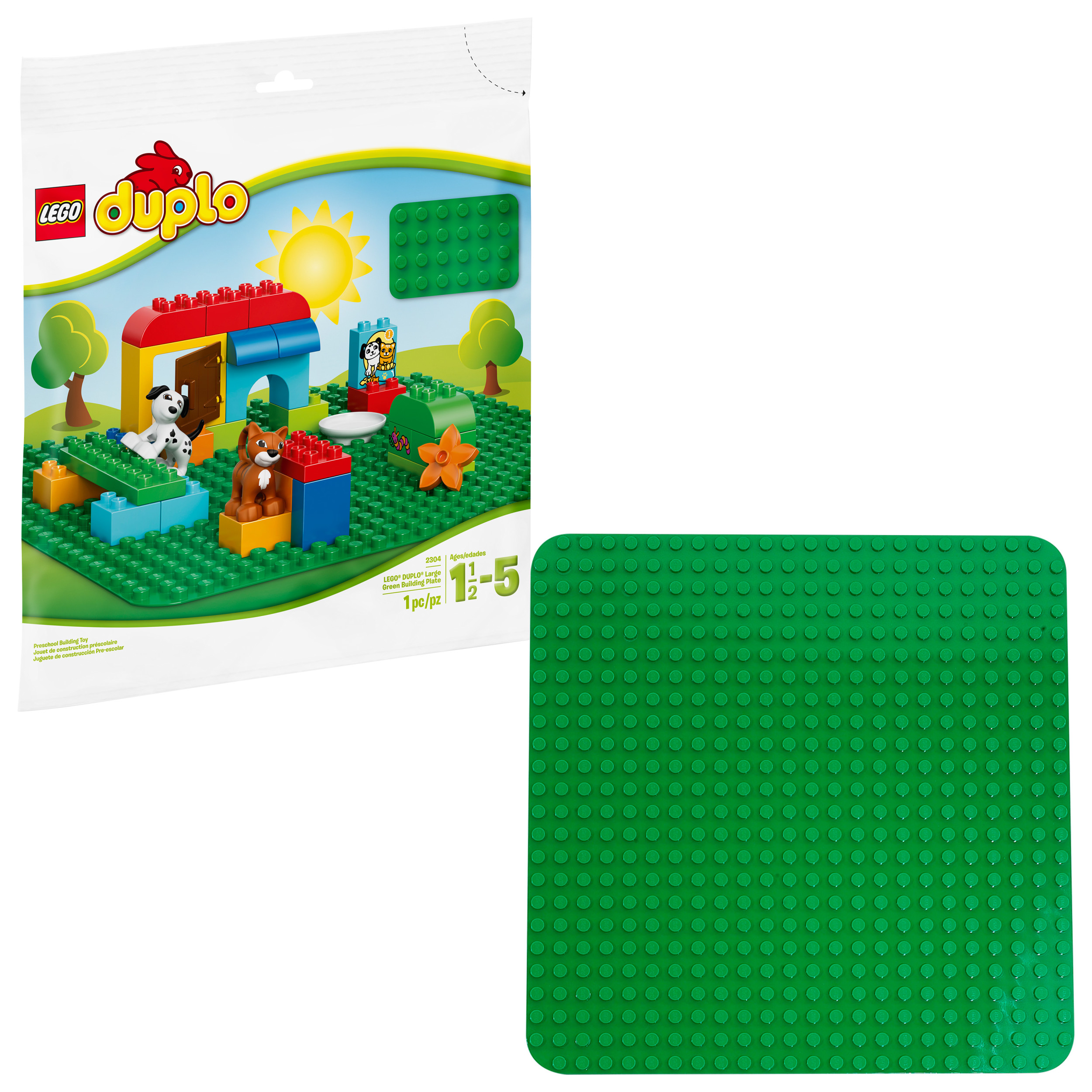 LEGO¨ DUPLO¨ Large Green Building Plate 2304