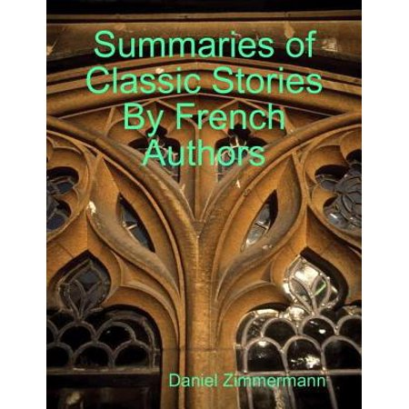 Summaries of Classic Stories By French Authors - eBook (Halloween Story Summary)
