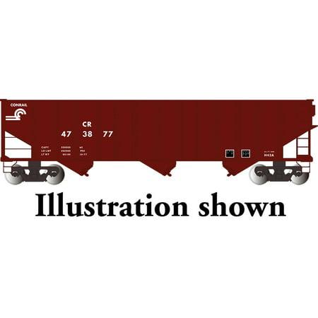 - Bachmann HO Scale Train 100-Ton Hopper Conrail 18708