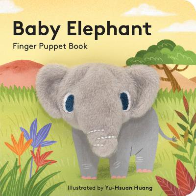 Baby Elephant Finger Puppet Book (Board Book)