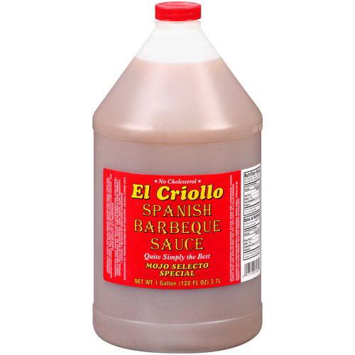 El Criollo Spanish BBQ Sauce, 1 gal