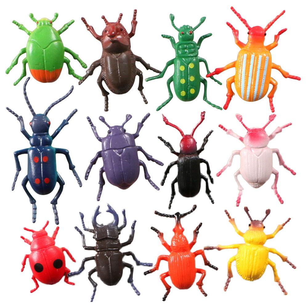 12Pcs Insect Simulation Model Toys Bug Children ...