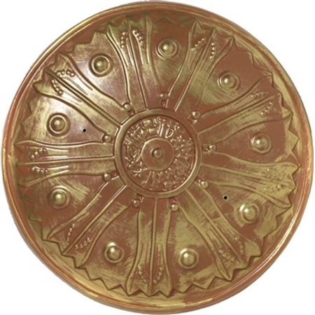 Roman Shield Adult Halloween Accessory - Gold Digger Halloween