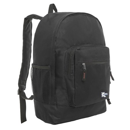 Classic Large Backpack for College Students and Kids, Lightweight Durable Travel Backpack Fits 15.6 Laptops Water Resistant Daypack Unisex Adjustable Padded Straps for Casual Everyday Use