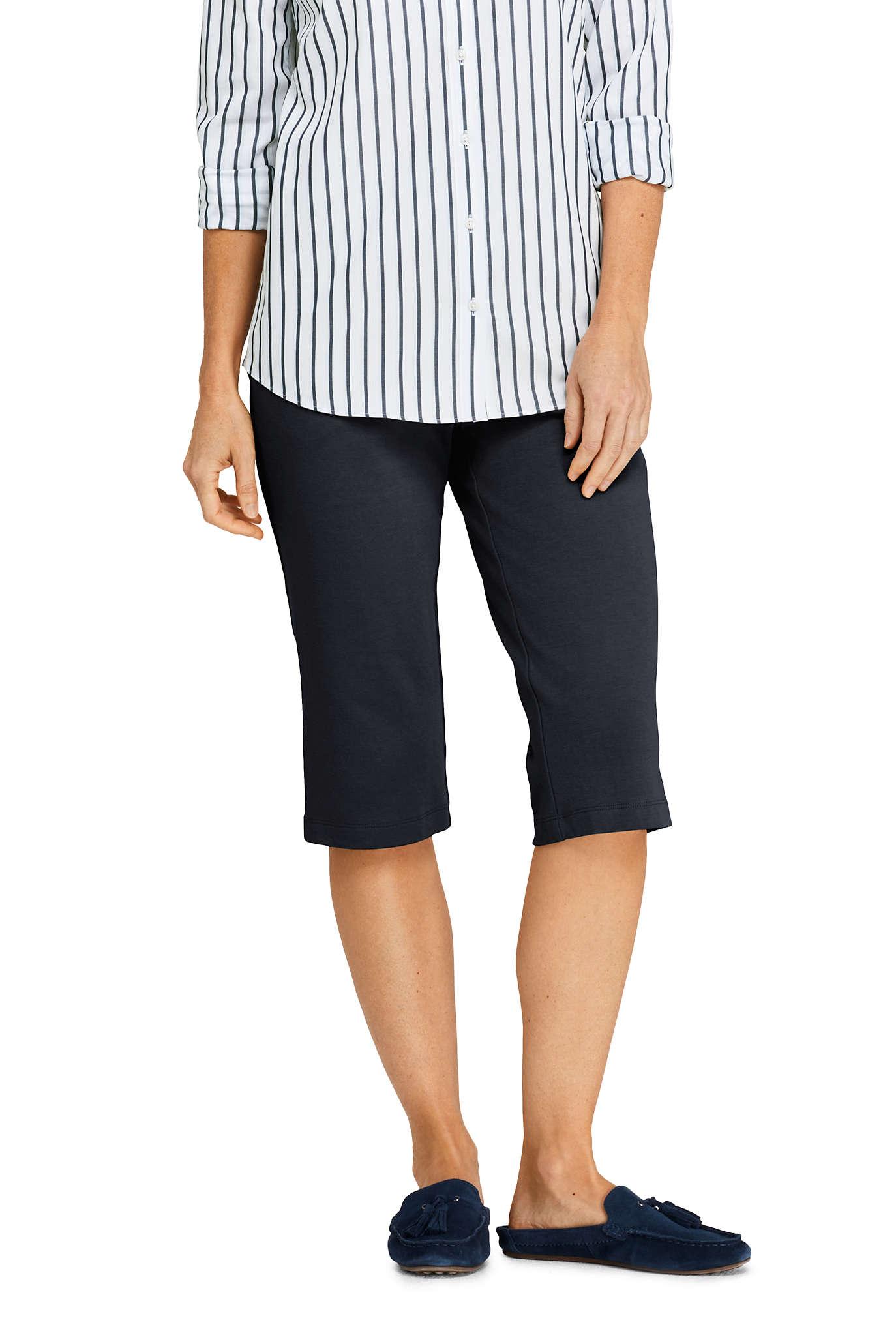 Women's Sport Knit Capri